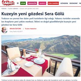 2017-06-04 - Sabah - Internet - Sera Lake Resort Hotel Trabzon