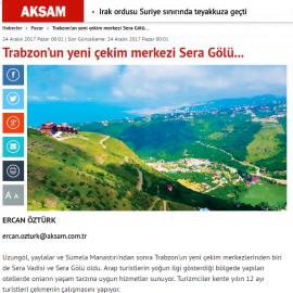 2017-12-24 - Akşam - Internet - Sera Lake Resort Hotel Trabzon