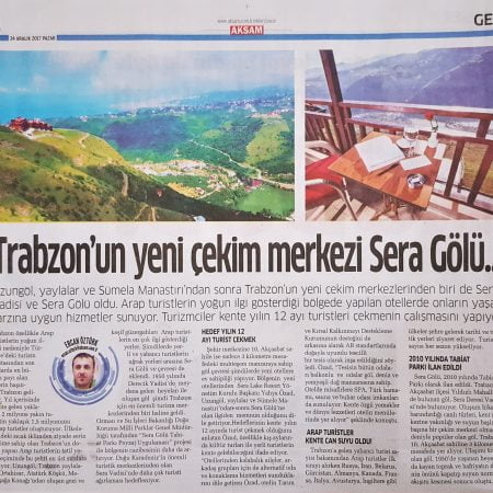 2017-12-24 - Akşam - Sera Lake Resort Hotel Trabzon
