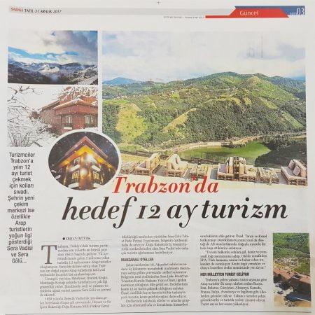 2017-12-31 - Sabah - Sera Lake Resort Hotel Trabzon