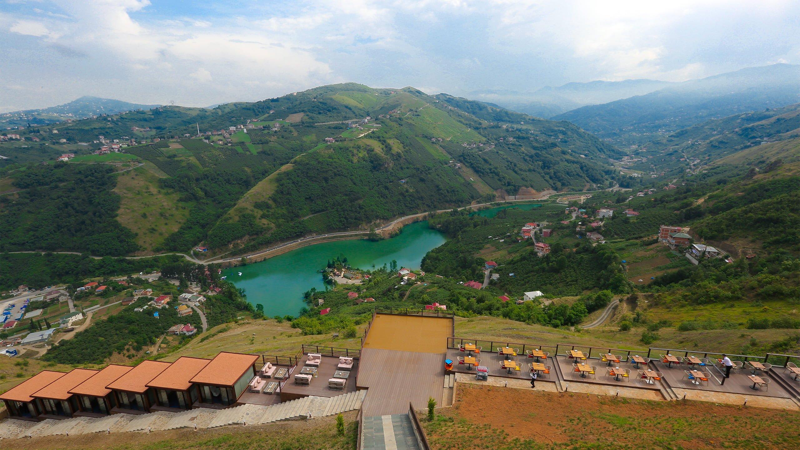 Sera Lake Resort Hotel Trabzon Garden Cafe