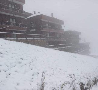 Sera Lake Resort Hotel Trabzon Winter
