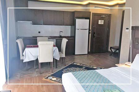 Çift Kişilik Göl Manzaralı Oda - Mutfaklı